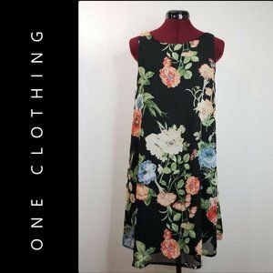 One Clothing Women Flowy Floral Dress Size Large